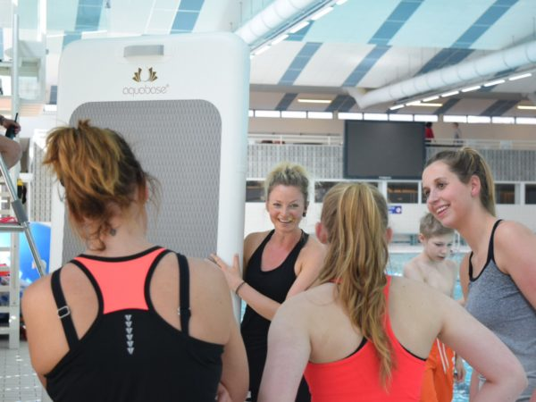 FloatFit master trainer Bianca Landman